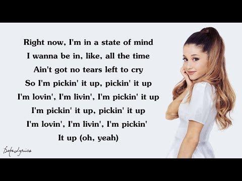 Ariana Grande - No Tears Left To Cry (Lyrics)