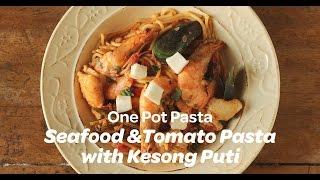 Seafood and Tomato Pasta with Kesong Puti   Yummy Ph