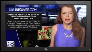 Satellite Feed Cut As Soon As Congressman Mentions Wikileaks On CNN