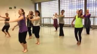 Ghagra Dance - Madhuri Masterclass in London with Minila of Ajna Dance NYC