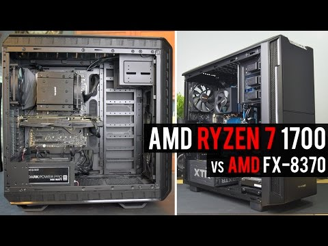 AMD RYZEN 7 1700 vs FX 8370