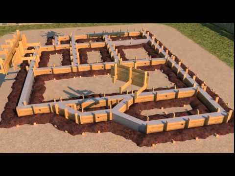 Пошагово построить дом