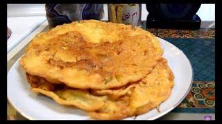 بيض بلطحين , اكلات عراقيه ام زين IRAQI FOOD OM ZEIN