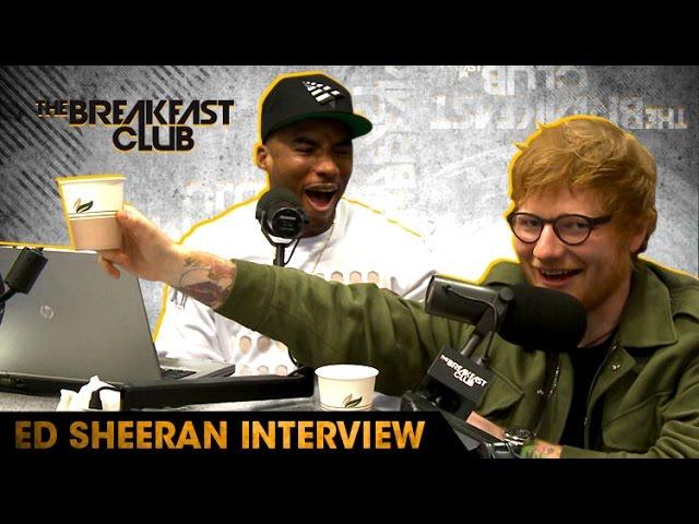 Ed Sheeran Goes Shot For Shot With The Breakfast Club, Raps To Nicki Minaj & More
