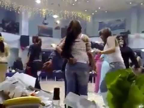 محافظ صلاح الدين احمد عبد الله الجبوري يسهر في حفلة مع الراقصات ويتناول شرب الخمر 2014