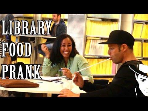 Library food Prank Julien Magic