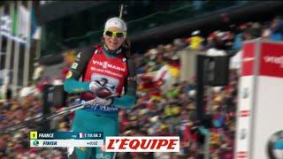 La France remporte le relais dames d'Oslo - Biathlon - CM (F)