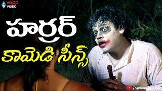 Telugu Horror Comedy Scenes - Telugu Horror Comedy Movies - 2016