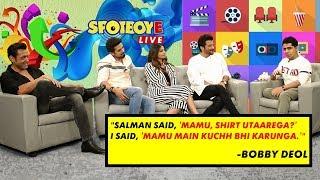 Bobby Deol, Anil Kapoor, Saqib Saleem, & Daisy Shah Talk About Their Film