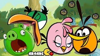 Angry Birds - Angry Birds New Seasons Vampire Bad Piggies Walkthrough Level 6 - 12