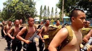 PARAH! LATIHAN FISIK BERSAMA TNI AU! ( BINSIK - SAMAPTA BEA CUKAI XIX )