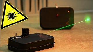 احمي منزلك بجهاز انذار( فعّال ١٠٠%) يعمل بالليزر!!!Protect your home using a laser alarm device