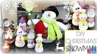 ❄ DIY | Christmas Sock Snowman ❄ - Bellafloresa