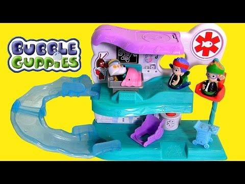 Bubble Guppies Check Up Center Playset Guppie Toy Surprise by Fun Toys Collector