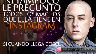 Te Busco - Nicky Jam Ft Cosculluela | (Official Lyric Video) Letras Oficial