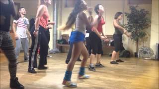 Cours de Samba Funk Choregraphie aquecimento das panteras