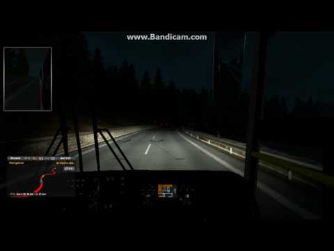 ETS2 - Baghdad Express and Shohagh Elite caught by Soudia on hilly road