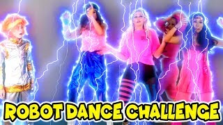 Robot Dance Challenge. Dance Battle to See Who Becomes a Robot? Totally TV