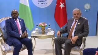 Başbakan Yıldırım, Cibuti Başbakanı Muhammed İle Görüştü