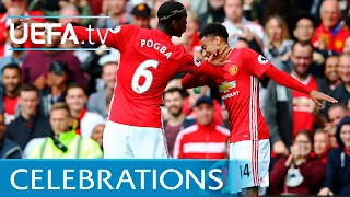 Pogba and Lingard's 'double dab' and other goal celebrations