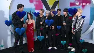 BTS Interview - AMAs Red Carpet 2017