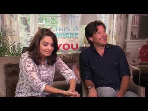 Tina Fey and Jason Bateman can't do a British accent: 'This Is Where I Leave You' interview