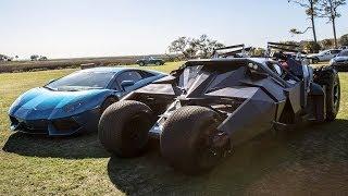 Ride in the Batman Tumbler (POV Video)