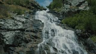 WATERFALLS AND RIVERS IN MOUNTAINS OF GILGIT BALTISTAN - PAKISTAN