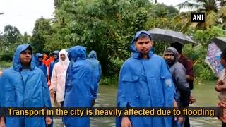 Incessant rain lashes Kottayam, rescue operation underway