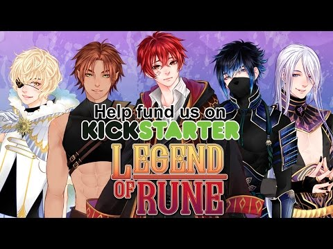 Legend of Rune: A BL / Yaoi Visual Novel RPG - Kickstarter Demo - No commentary