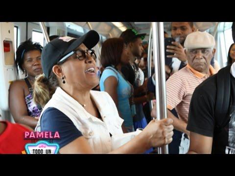 ¡Milly Quezada sorprende a los dominicanos en el Metro de Santo Domingo