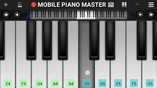 Sab Tera Piano Tutorial || Baaghi || Tiger shroff || - Mobile Perfect Piano Tutorial