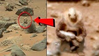5 صور لكائنات غريبة تم إلتقاطها على كوكب المريخ..!!