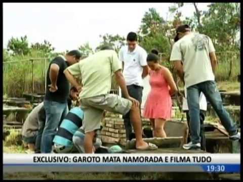 GAROTO MATA EX NAMORADA E FILMA O CRIME
