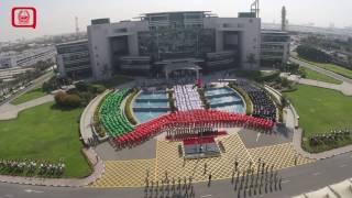 احتفال شرطة دبي بيوم العلم 2016