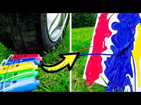 Car does Art 15 DIY Projects Made by a Car