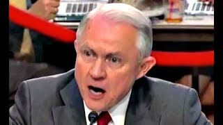 Jeff Sessions HEATED response to Ron Wyden on the firing of james comey trump russia investigation