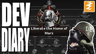 THE HOME OF MARX??? - Dev Diary - Hearts of Iron 4 HOI4