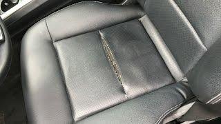 Fix ripped apart seat Mercedes E350