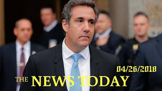 Lawyers For Trump, Cohen To Return To Court Over Seized Documents   News Today   04/26/2018   D...