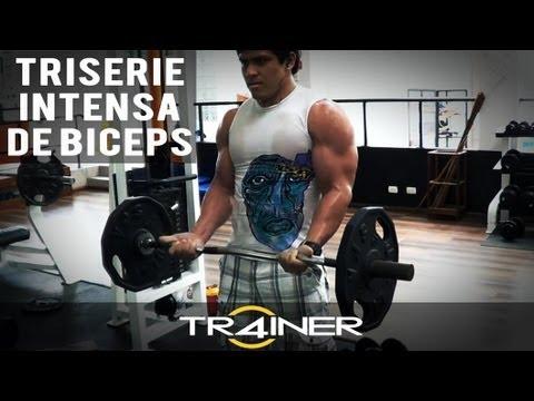 Triserie INTENSA De Biceps
