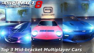 Asphalt 8: My Top 3 Mid-Bracket Cars for Multiplayer