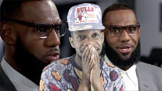 THOUGHT ABOUT THE SIXERS! LEBRON JAMES INTERVIEW ON HIS I PROMISE SCHOOL & MORE!