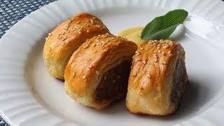 Sausage Rolls Recipe - How to Make Sausage Rolls