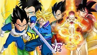 Dragon Ball Z Resurrection F 2015 Animation movies for kids