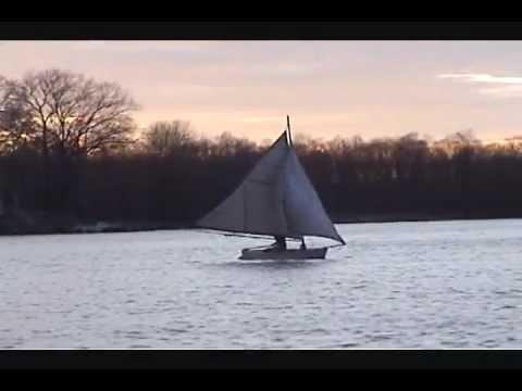My homemade sailboat