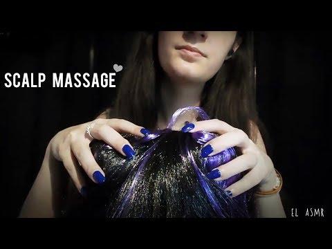 ASMR SCALP MASSAGE!♥ Head Massage/scratching *Binaural* [No talking]