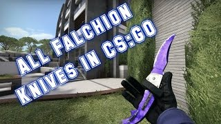 All Falchion Knives in CS:GO With All Skins