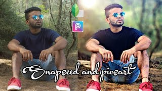 How to blur background without photoshop! Edit on Snapseed and picsart!