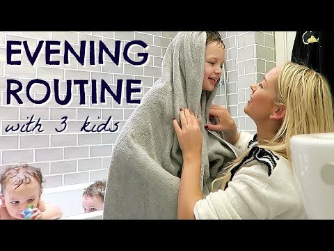 Xxx Mp4 EVENING ROUTINE OF A MOM MUM WITH 3 KIDS ALONE BEDTIME ROUTINE EMILY NORRIS 3gp Sex
